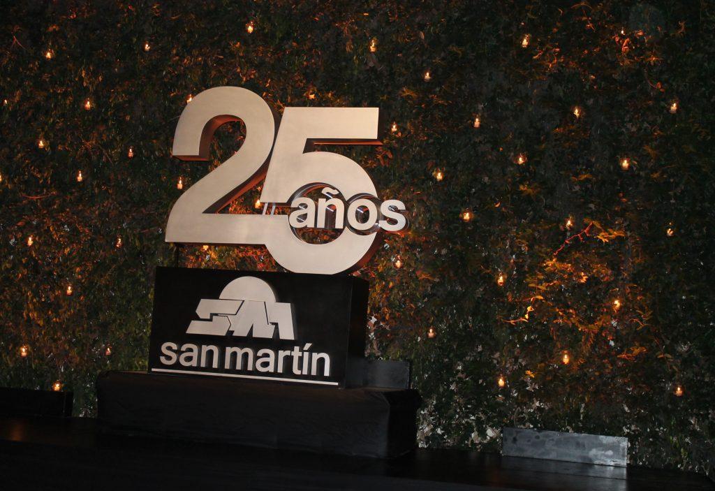 San Martín celebró 25 años de vida institucional