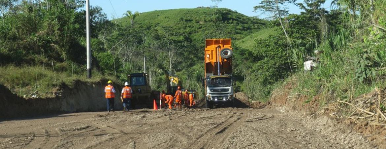 Rehabilitación y mejoramiento de la carretera Tocache – Juanjui