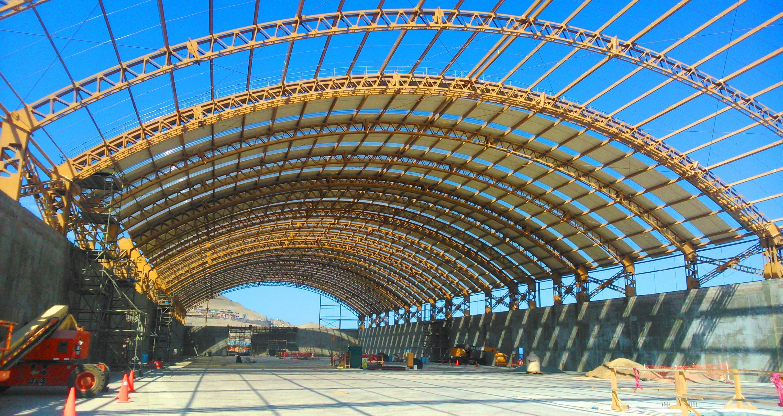 Construcción de patio de concentrado Fase I – Patio Puerto Ilo