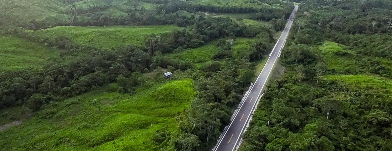 Rehabilitación y mejoramiento de carretera Puerto Bermúdez – San Alejandro