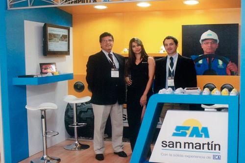 San Martín participó en el XVI Congreso Minero en Colombia