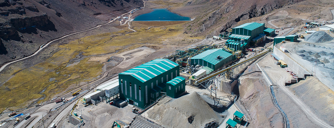 Assembly of the Tambomayo Processing Plant Structures, Pipping and Equipment