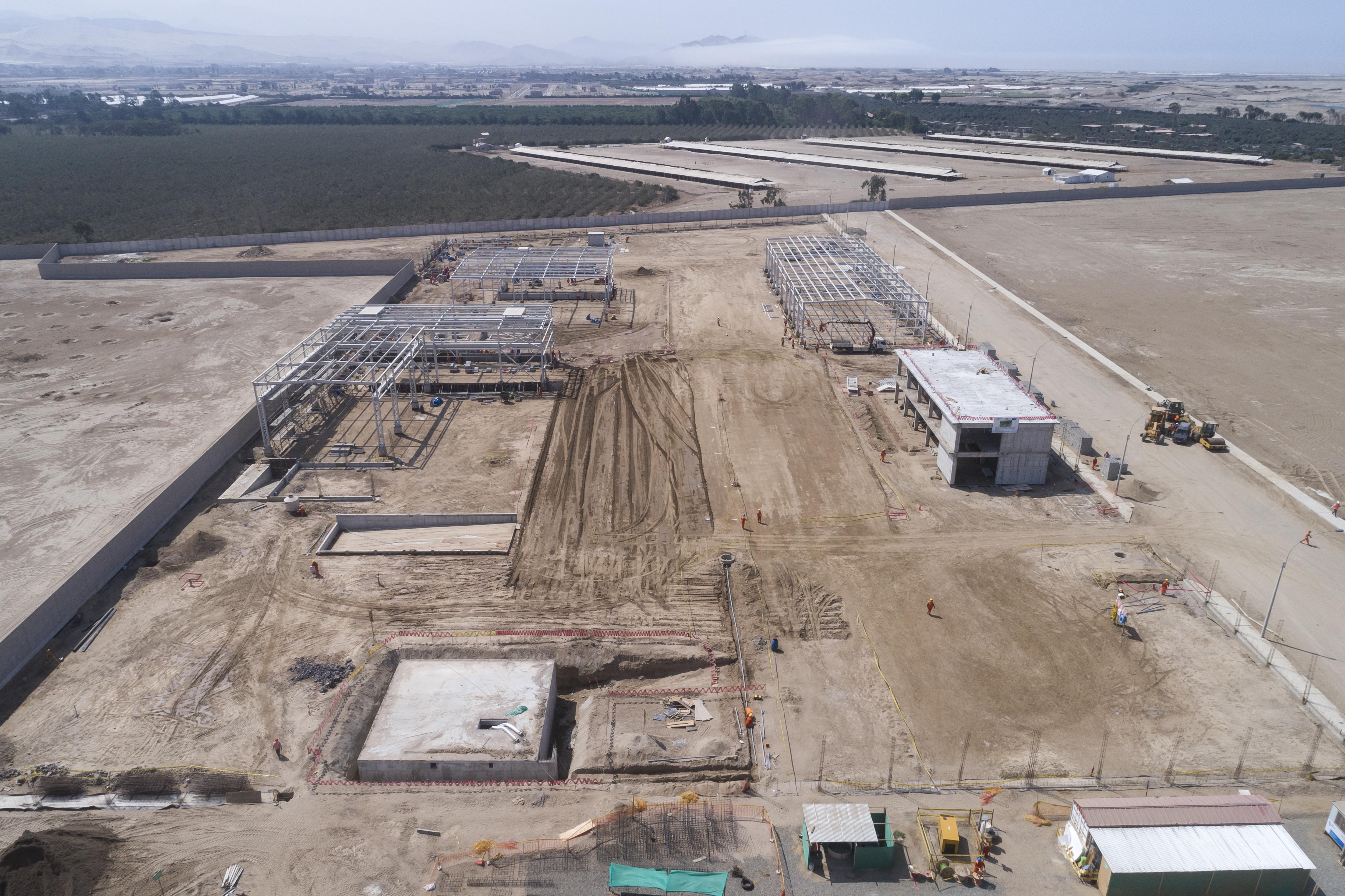 Taller de equipo minero – Construcción de la obras civiles, mecánicas y electromecánicas