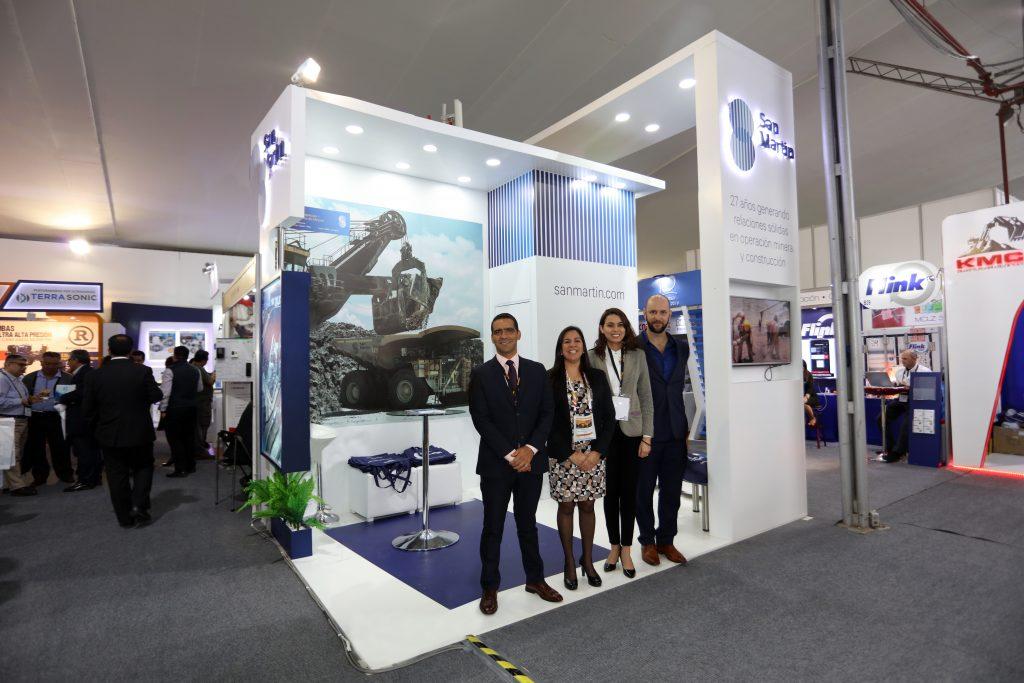 San Martín estuvo presente en la 7ma edición de Expomina Perú