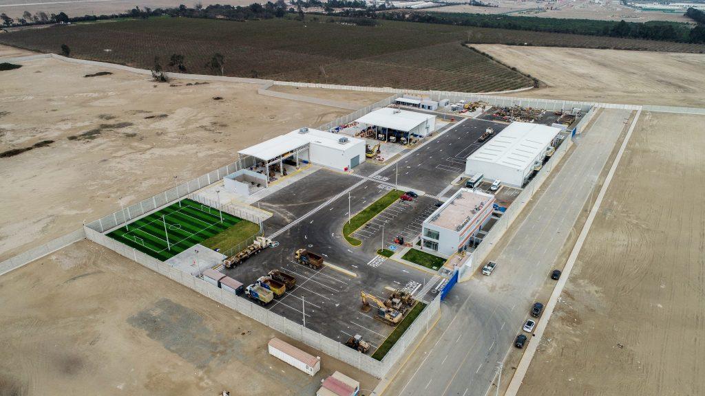 San Martín inaugura Centro de Reparación y Distribución Central
