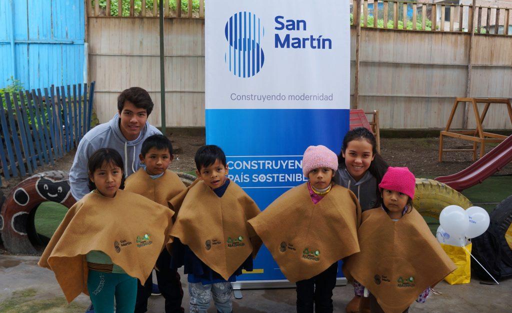 San Martín realiza campaña de reciclaje para brindar abrigo a zonas vulnerables